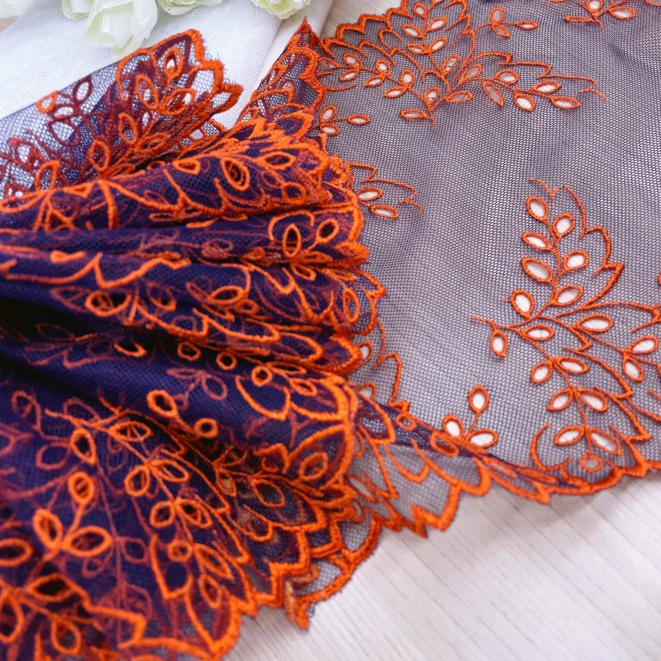 Вышивка на сетке В1-6 1 метр