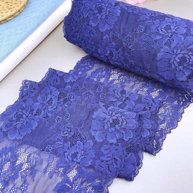 Эластичное кружево Э817 цвет синий