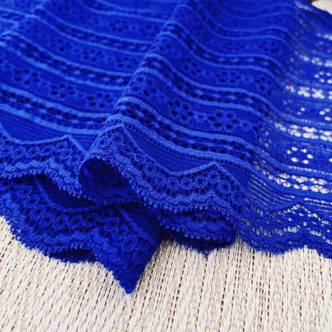 Эластичное кружево Э766 цвет синий