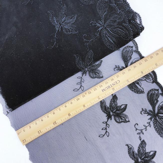 Вышивка на сетке В865 (отрез 7м)
